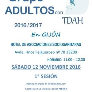 Inicio Grupo de Personas Adultas con TDAH