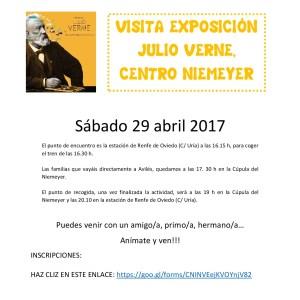 PROYECTO OCIO: visita exposición Julio Verne en el Niemeyer