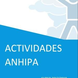 Calendario actividades ANHIPA curso 2017/2018