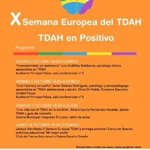 X Semana Europea del TDAH
