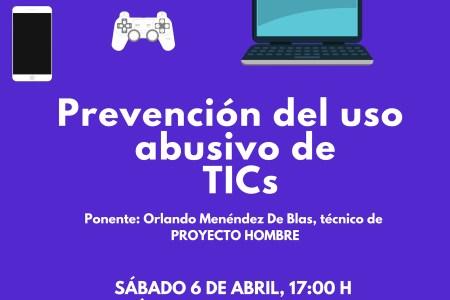 XXV ENCUENTROS CON ANHIPA «Prevención del uso abusivo de las TICs» Sábado 6 de Abril a las 17 h en el Centro Social Naranco en Oviedo