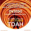 El TEATRO CAMPOAMOR DE OVIEDO se ilumina en naranja por el Día del TDAH en España
