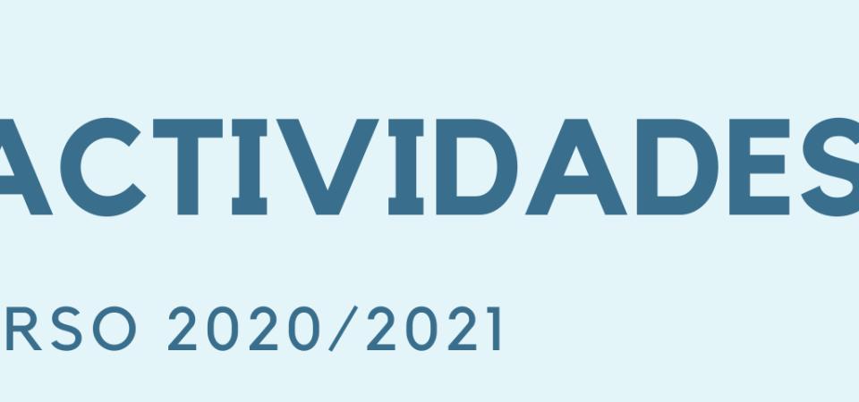 YA ESTÁ ABIERTO EL PERIODO DE PREINSCRIPCIÓN A LAS ACTIVIDADES 2020/2021