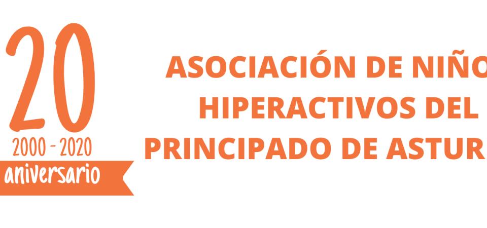 LA ASOCIACIÓN DE NIÑOS HIPERACTIVOS DEL PRINCIPADO DE ASTURIAS (ANHIPA) CELEBRA 20 AÑOS TRABAJANDO POR LA MEJORA DE LA CALIDAD DE VIDA DE LAS PERSONAS CON TDAH Y SUS FAMILIAS.
