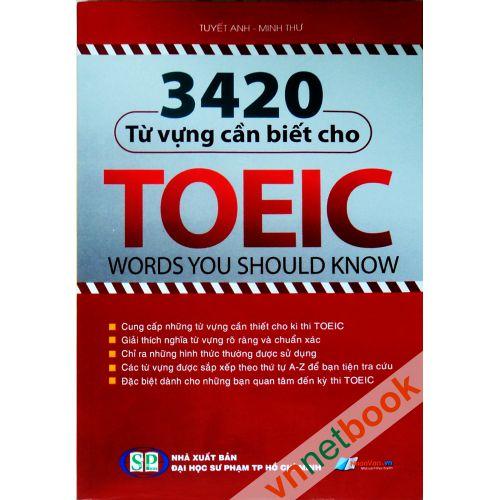 3420 Từ vựng TOEIC - Ms Hoa TOEIC