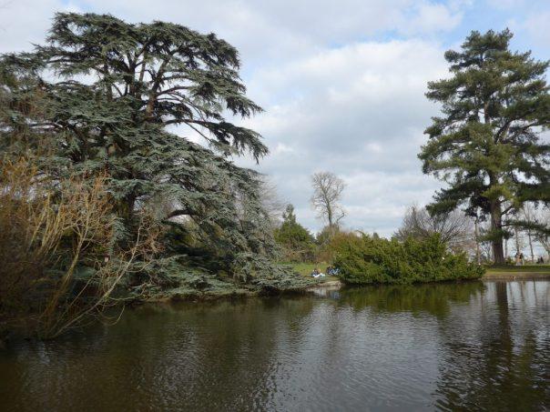 Jardin de Trocadéro, Parc St Cloud