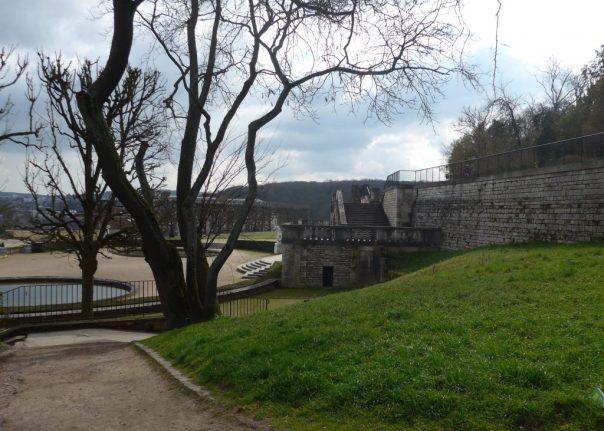 Terrasse du Château, Parc St Cloud