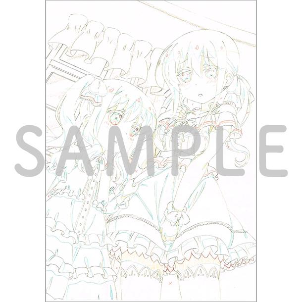 アニメ描き下ろしイラスト使用 B2タペストリー(冠、大会)