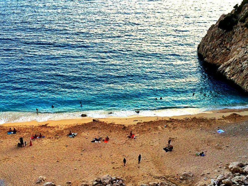 Kaputas beach is one of the best beaches in Turkey, if not the best.