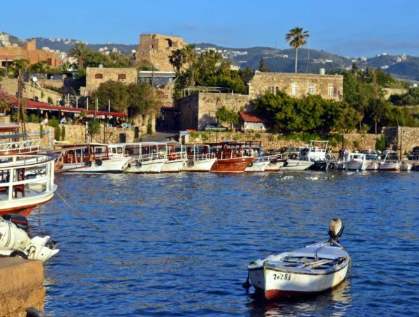 The historical city of Byblos (Jbail), a UNESCO World Heritage Site.