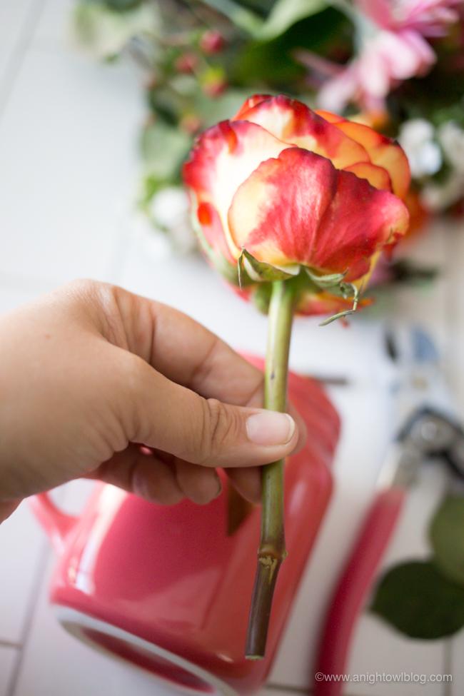 Valentines Day Mason Jar Bouquets A Night Owl Blog