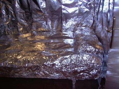 forrar habitacion papel albal broma (2)