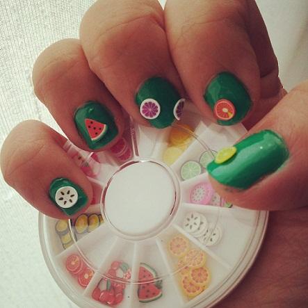 uñas fimo nail art fimo