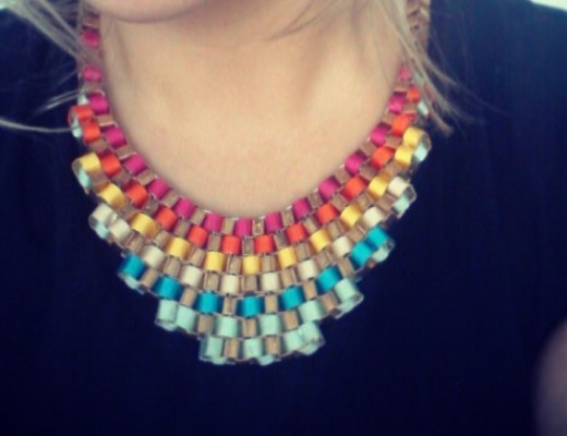 collar degradado moda