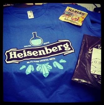camiseta heisenberg qwertee
