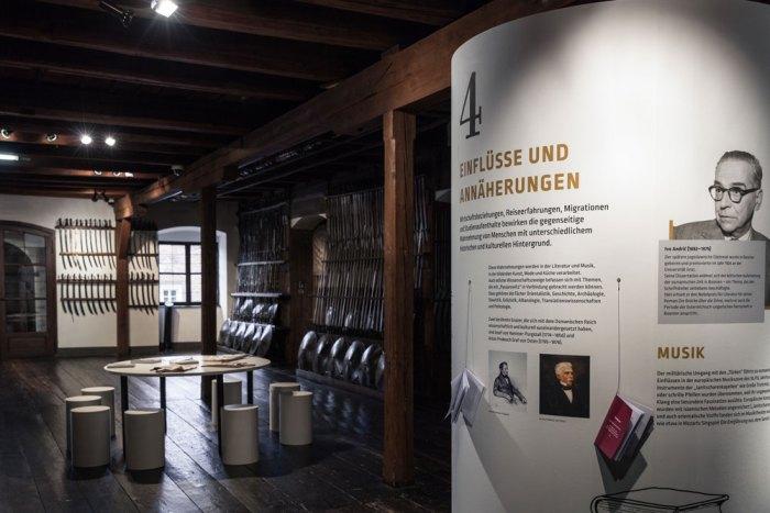 """Ausstellungsansicht """"Wir und Passarowitz"""", Foto: Janine Wagner"""