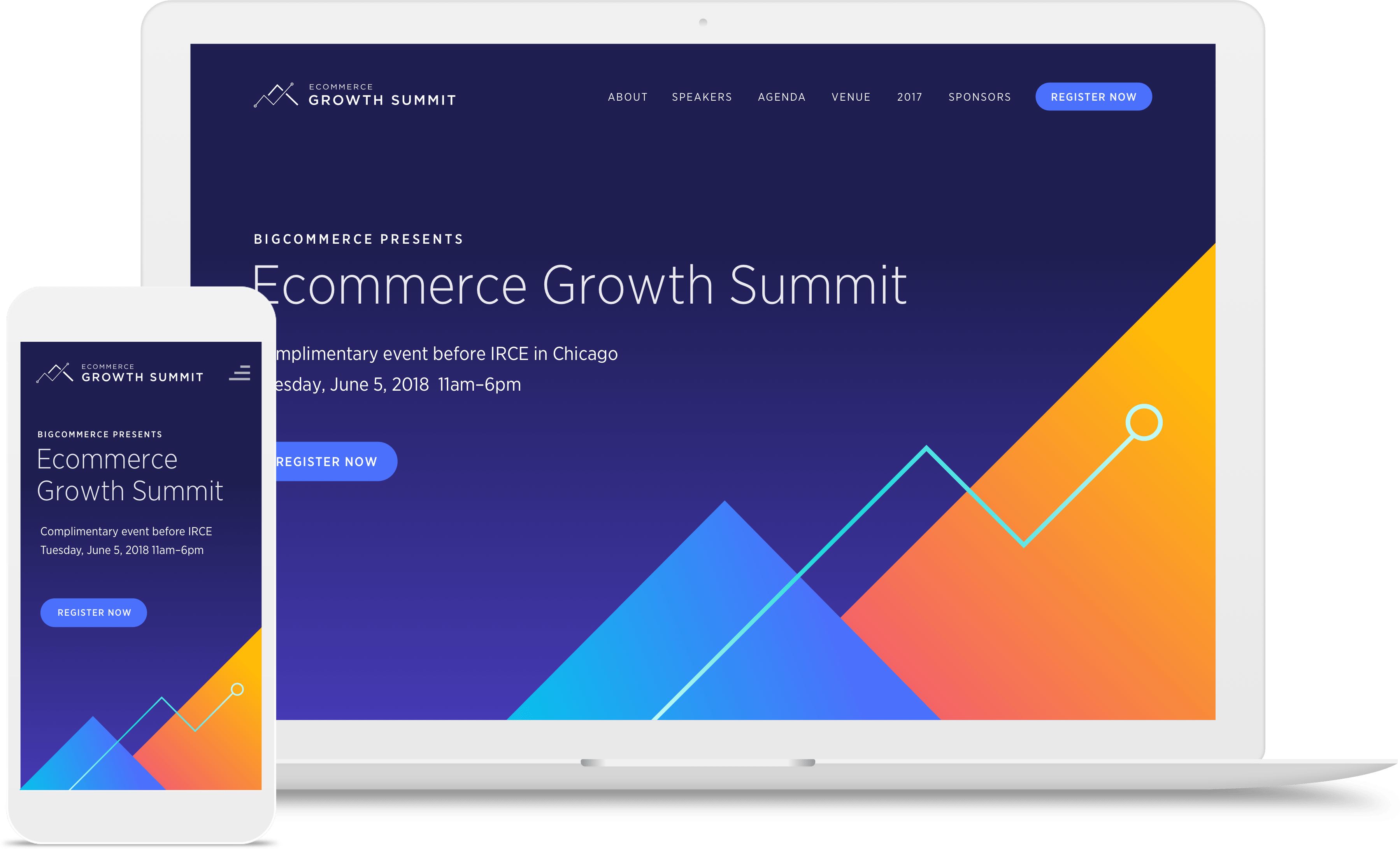 ecommerce growth summit event landing page