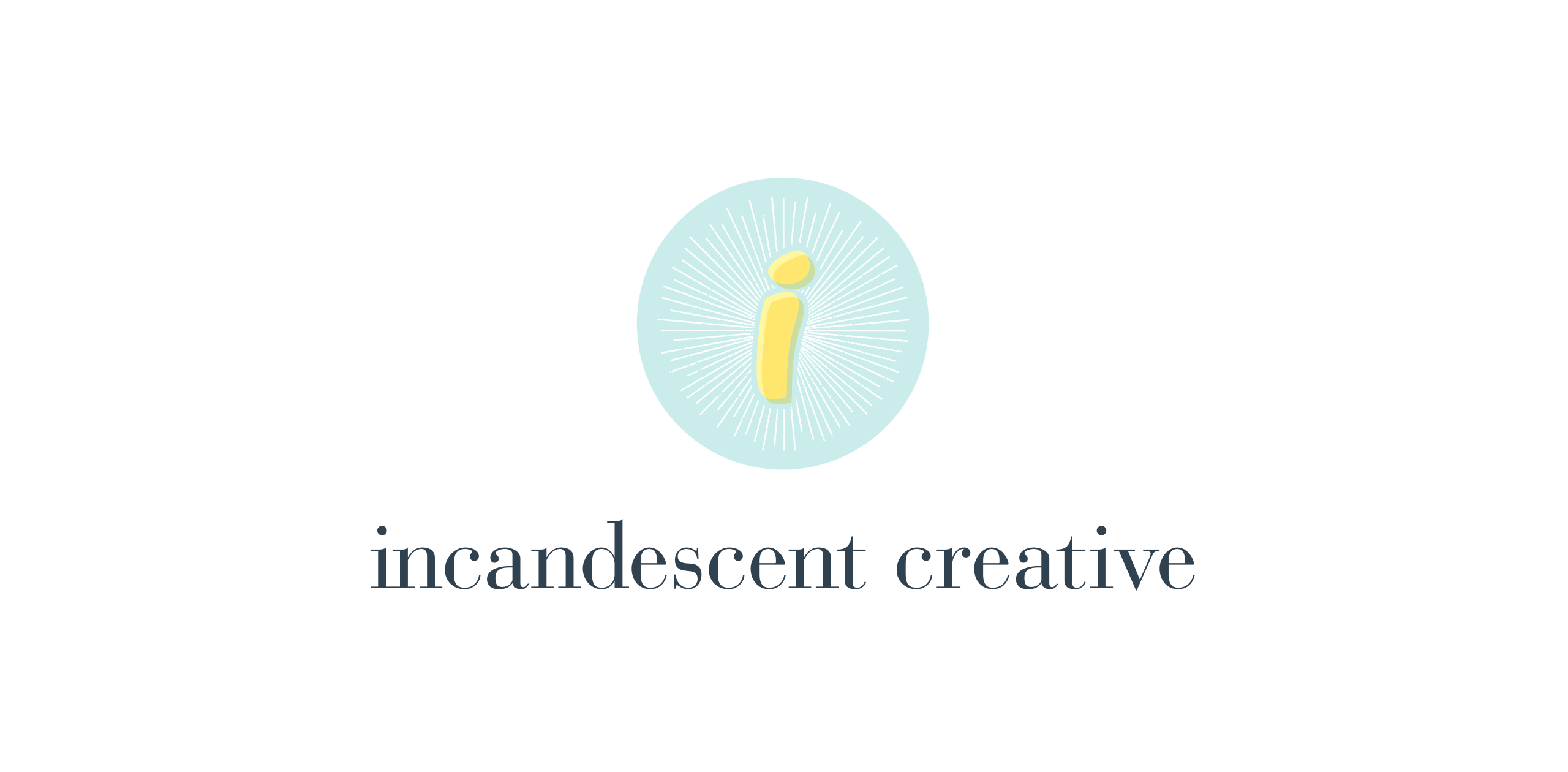 incandescent creative logo