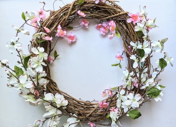 Image result for spring wreath