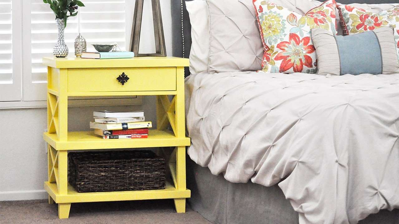 Diy Pottery Barn Inspired Nightstand Free Plans Anika S