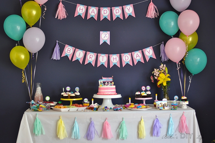 Lego Friends Themed Birthday Party Full Of Fun Color And Legos