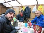 Ratsek dağ evi mutfağında Tunç & Doğan