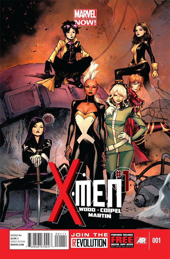 Las mujeres toman X-Men en Marvel NOW!