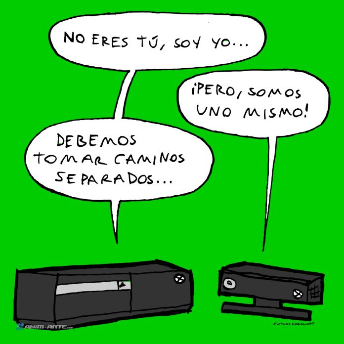 Xbox One abandonador | Web cómic