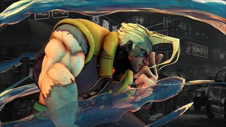 Street Fighter V | Charlie