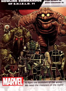 Howling Commandos Of S.H.I.E.L.D. #1