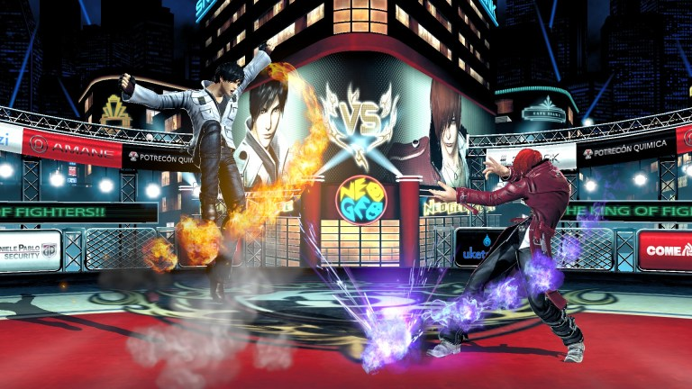 The King of Fighters XIV llegará a PS4… y en 3D