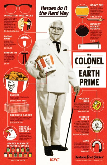 KFC: The Colonel of Two Worlds
