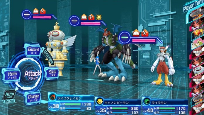 Compite contra japoneses en Digimon Story: Cyber Sleuth