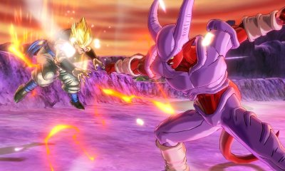 Gogeta vs Janemba en Dragon Ball Xenoverse 2.