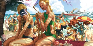 Un vistazo a Street Fighter Swimsuit Special.