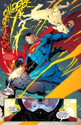 Krypto resucita en Superman #6.