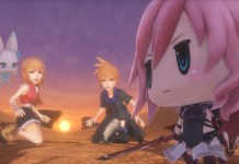 Square Enix presenta tráiler de World of Final Fantasy en el TGS 2016.