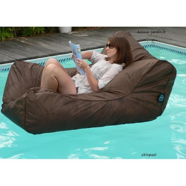 fauteuil flottant piscine sitinpool