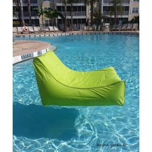 fauteuil flottant piscine kiwi gonflable canape de piscine pouf pas cher