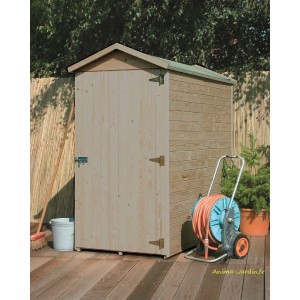 petit abri de jardin en bois rangement velo storage traditional autoclave solid