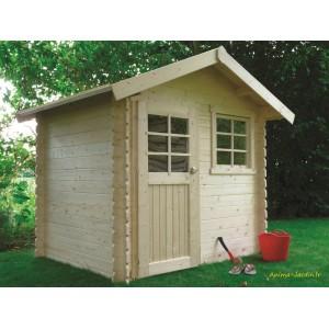 abri de jardin en bois 28mm laval 1 porte solid pas cher achat vente