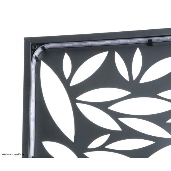 panneau decoratif avec ruban solaire