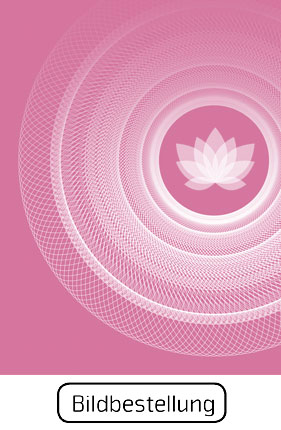 Wandbild Purity, Lebendigkeit und Klarheit, pink und weiss, Harmonisierung vom Mensch und Raum, Leinwandbild, Feng Shui Süden