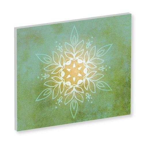 Mandala, Mandala Art Work, grünes Bild, Feng Shui Bild Nordosten, Südosten, Harmonie, Olivgrün, online bilder bestellen. leinwandbild