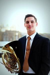 Austin Sposato, Horn, Anima Brass Quintet, Stony Brook, Long Island, New York, NY