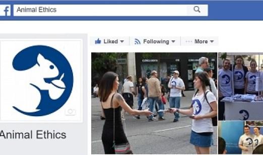 Animal Ethics on Facebook