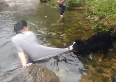 川遊びは危ないから絶対にだめ!