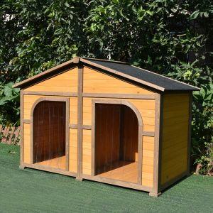 niche pour chien avec terrasse animal
