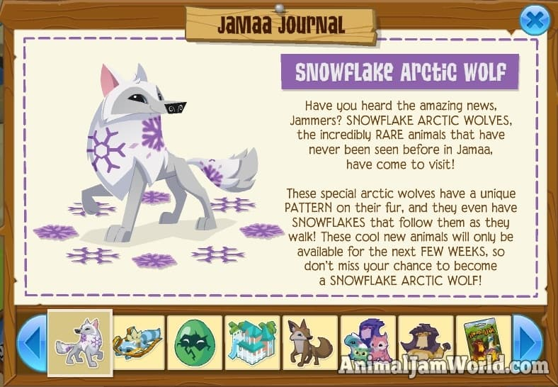 Animal Jam Play Wild Arctic Wolf Codes That Work