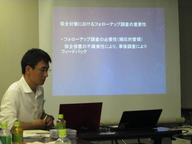 国総研で作成された道路横断施設マニュアルについて、地域環境計画の園田氏のご講演